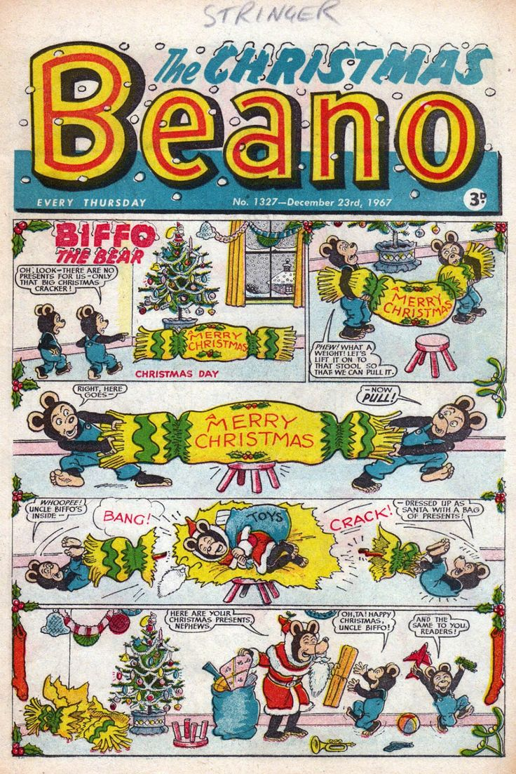 The Beano No.1327 -23rd December 1967 , the Christmas Edition