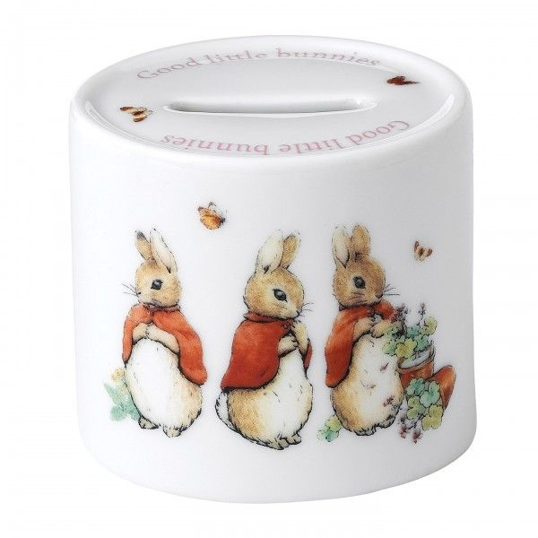 Peter Rabbit: 'Flopsy, Mopsy and Cotton-tail' Money Box