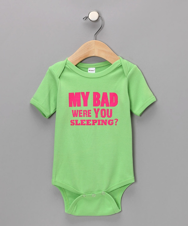 @Rebekah Wentworth & @Gaby Avery !: Mi Bad, Babies, Onesie, Gifts Ideas, Baby Gifts, Baby Shower Gifts, Kids, So Funny, Baby Stuff