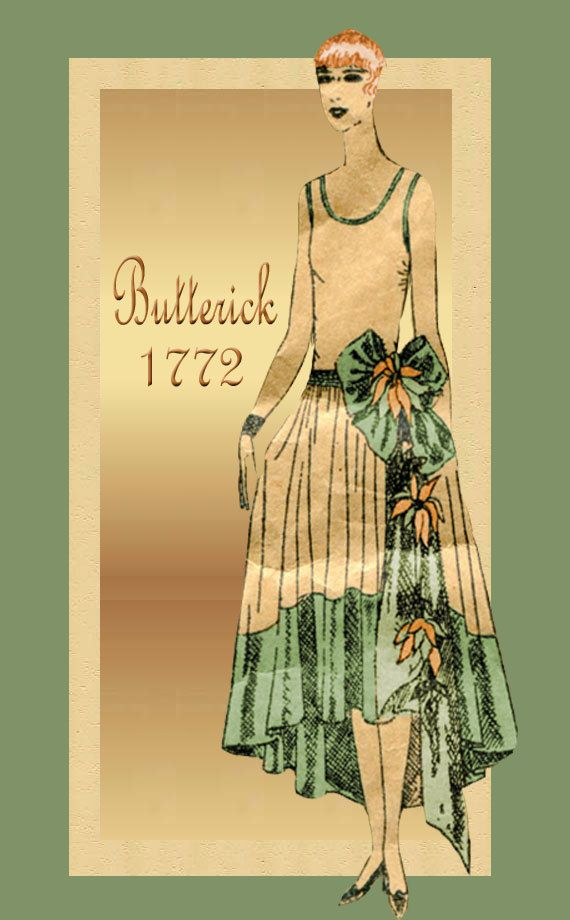 Vintage Dress Pattern New Butterick 1772 by FloradoraPresents, $95.00