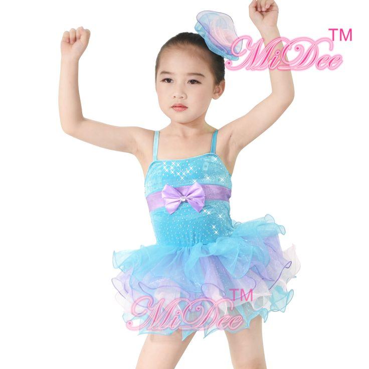 Girls Ballet Clothes Leotard Ballerina Tutu Wedding Dress Children Dance Costumes #Affiliate