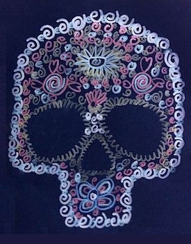 111 best art projects for grade 5 6 39 s images on pinterest for Day of the dead crafts for preschoolers