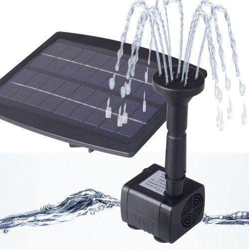 1000 id es sur le th me pompe pour fontaine sur pinterest fontaine de jardin le meilleur et - Fontaine solaire pour bassin ...