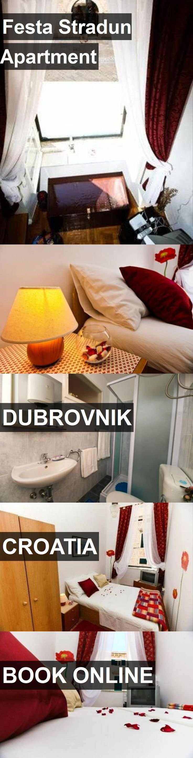 Hotel Festa Stradun Apartment in Dubrovnik, Croatia. For more information, photos, reviews and best prices please follow the link. #Croatia #Dubrovnik #FestaStradunApartment #hotel #travel #vacation