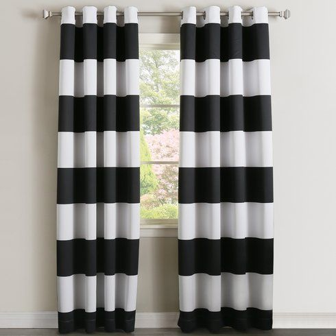 Best Home Fashion, Inc. Bold Curtain Panels