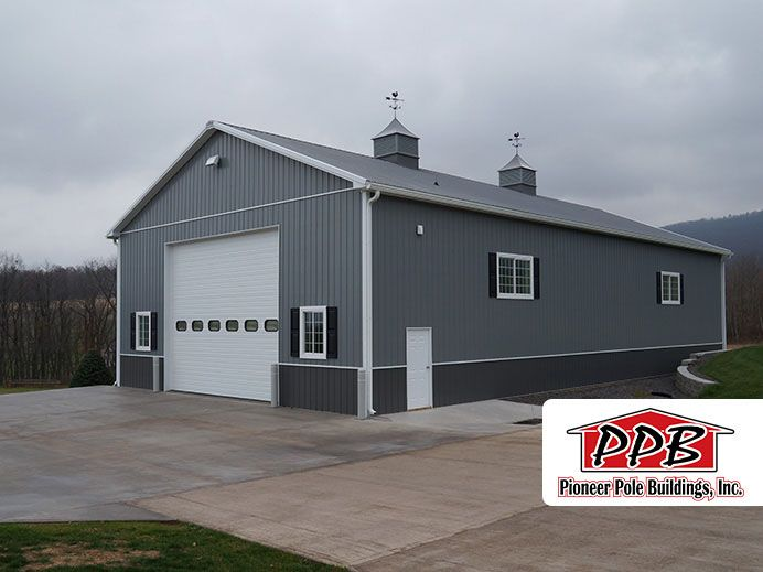 42 best pole barn images on pinterest for Pole barn dimensions