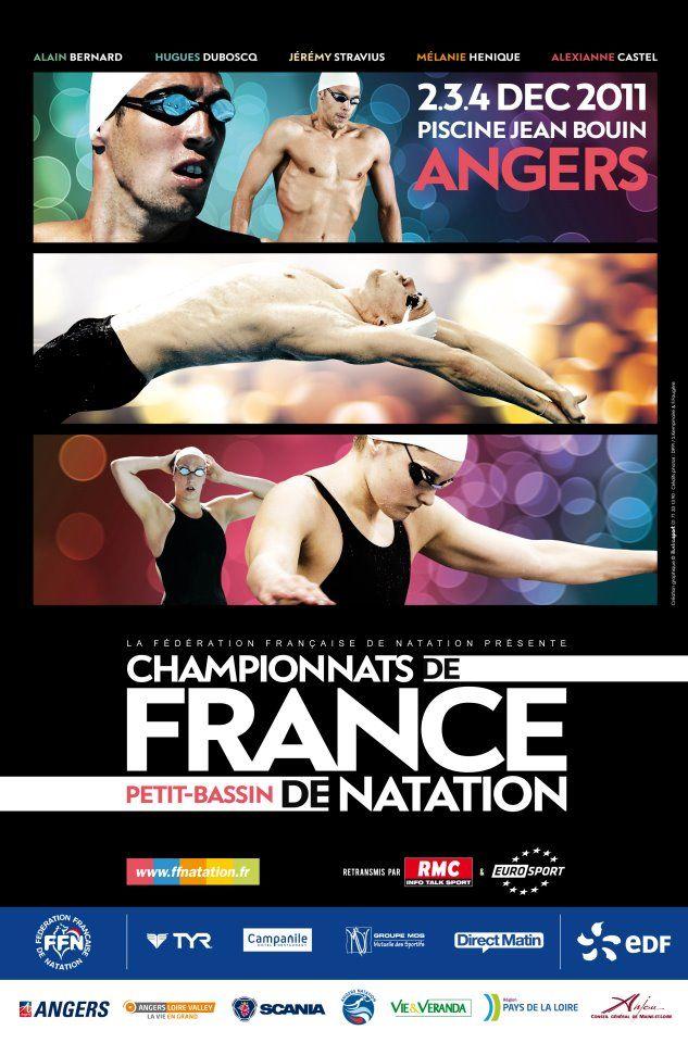 Championnat de France de Natation à Angers