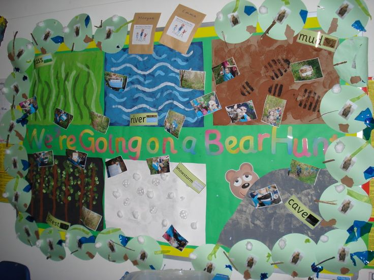 Were Going on a Bear Hunt Display, class display, forest, hunt, river, grass, bear, water, river, leaves, Early Years (EYFS), KS1& KS2 Primary Resources