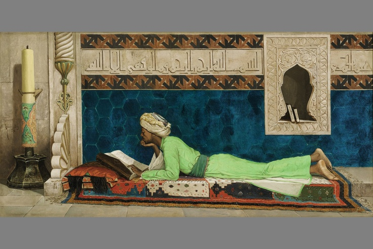 The Scholar by Osman Hamdy Bey, oil on canvas, 1878, estimate: £3,000,000-5,000,000