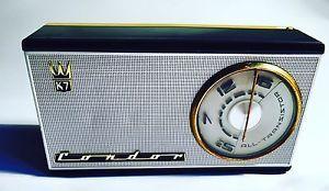 Radio Vintage Tascabile CONDOR K7 2605 Anni '60 Funzionante 📻 | eBay