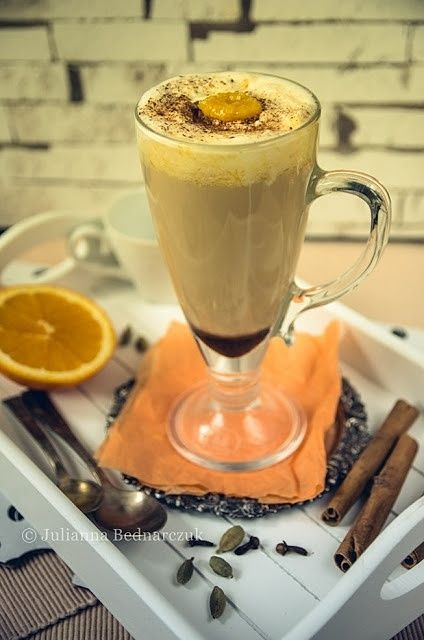 Kawa zbożowa o smaku korzenno-pomarańczowym