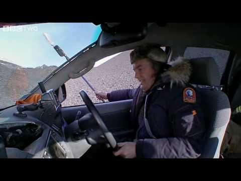 James May Burns Rubber on Volcanic Ash - Top Gear Series 15 Episode 1 - ...