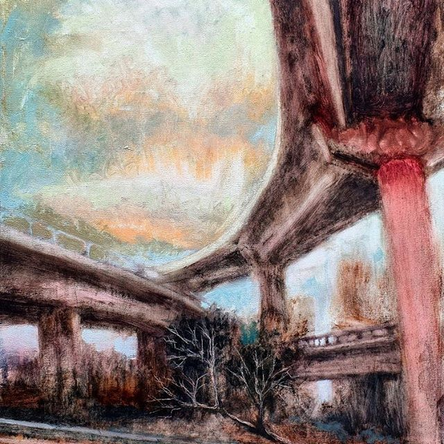 Calor en la ciudad  Hot in te city  #arte #art #artista #artist #gallery  #emergingartist  #london #madrid #Barcelona #buenosaires #londonart  #pintura #paint #paisaje #landscape  #creative #instaartist #graphic #officeart #cassart #interiordesign #oaktreeandtiger #galeriajoanprats #artwork #galeriaazur #oil #artecontemporaneo #americanart #americanartist #galerianorafisch