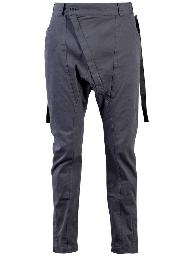 ALEXANDRE PLOKHOV - Asymmetric Fly Trouser - M303 AP12WT15 CHARCOAL - H. Lorenzo