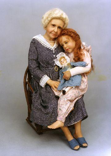 Grandma's girl — Diane Keeler Awwwww, my redheaded daughter is also Grandma's girl. <3