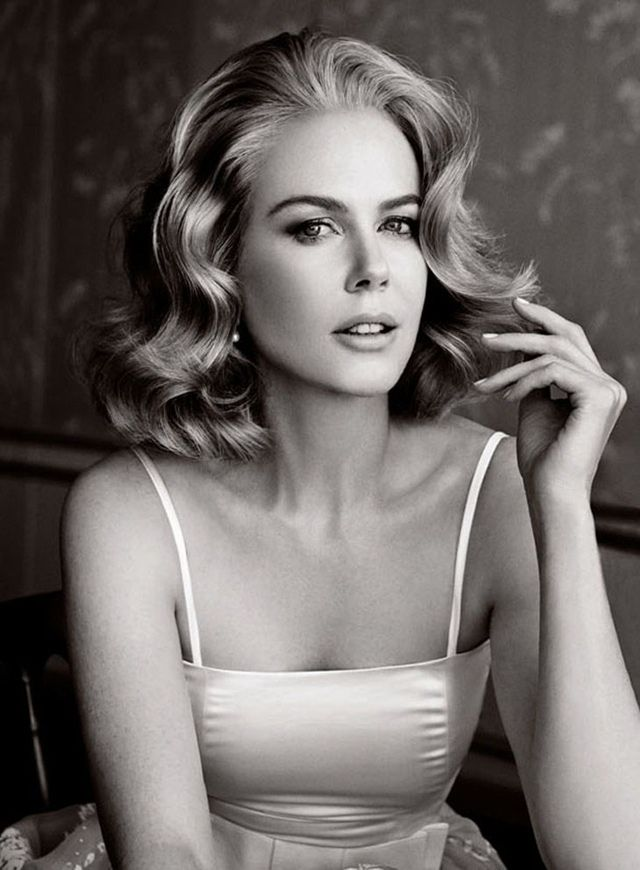 Nicole Kidman in photo shoot - 'Grace of Monaco', 2014.