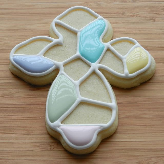 Simply Sweets by Honeybee - Tutorial on making mosaic sugar cookies