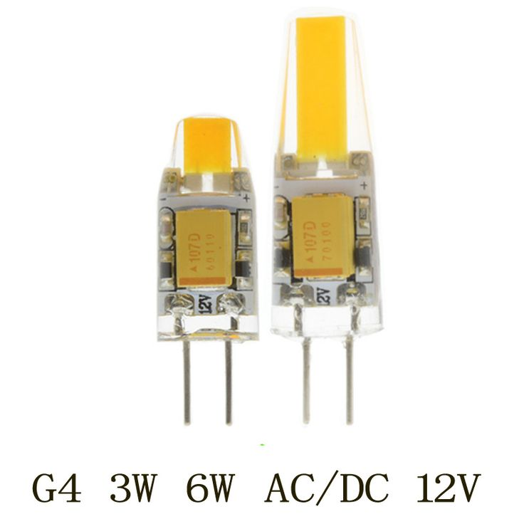 Lampada led באיכות גבוהה 1 יחידות AC/DC 12 V G4 LED 3 W 6 W חדש COB אור תירס הנורה SMD סופר מואר החלף מנורת הלוגן אור Led