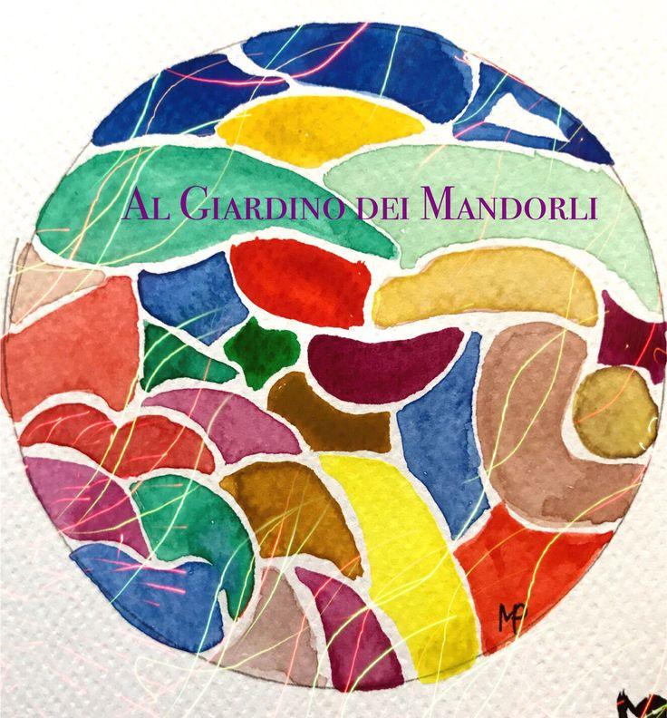 B&B al Giardino dei Mandorli  Alto Monferrato  www.algiardinodeimandorli Logo by Michael Door