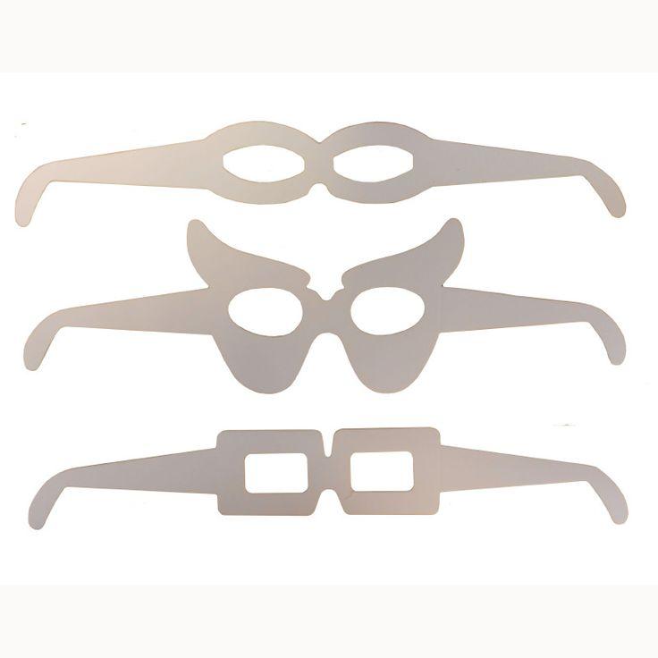 gekke brillen knutselen - Google zoeken
