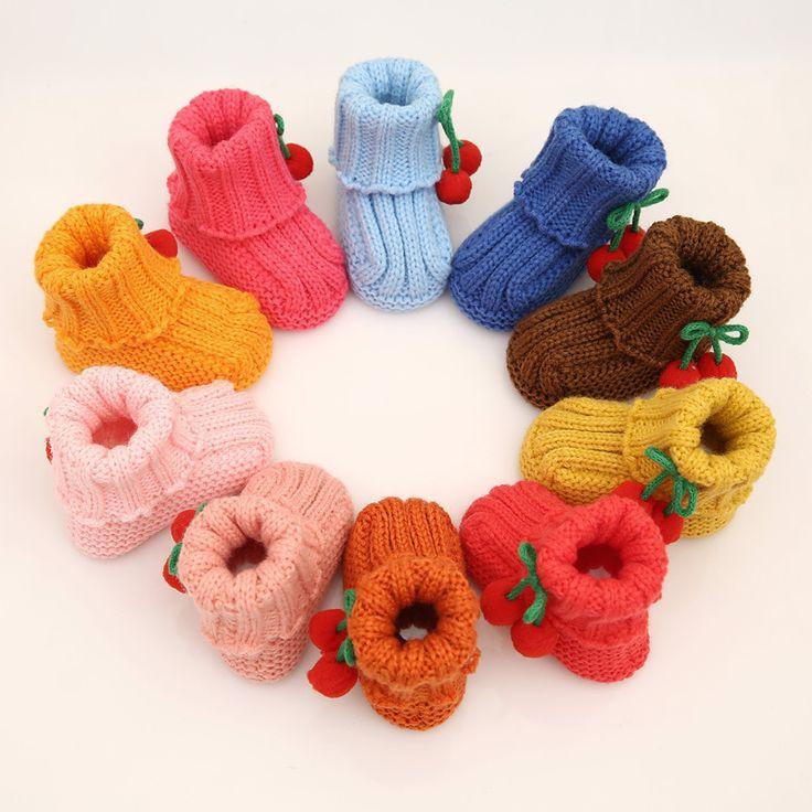 Booties Baby Crochet Boy Shoes Newborn Soft Cotton Fabric Infantil Menina Bimba Baby Booties Knitting First