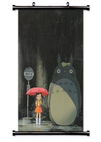my neighbor totoro anime fabric wall scroll poster 16 x on poster my wall id=21055