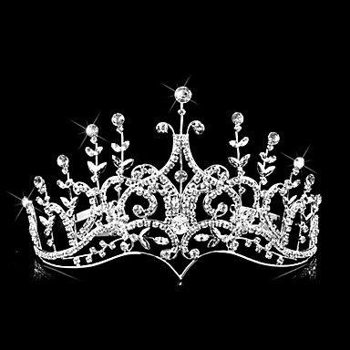 Gorgeous Alloy With Austria Rhinestones Wedding Tiara – USD $ 59.99
