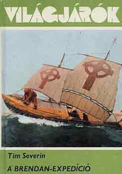 A szerző: Tim Severin, ír történész. Szent Brendon: ír püspök; a Navigatio című középkori krónika tanúsága szerint bőrből készült csónakon Írországból indulva átkelt az Atlanti-óceánon Amerikába. Útközben hatalmas vízi szörnyekkel csapott össze, madaraktól és juhoktól hemzsegő szigeteken kötött ki,