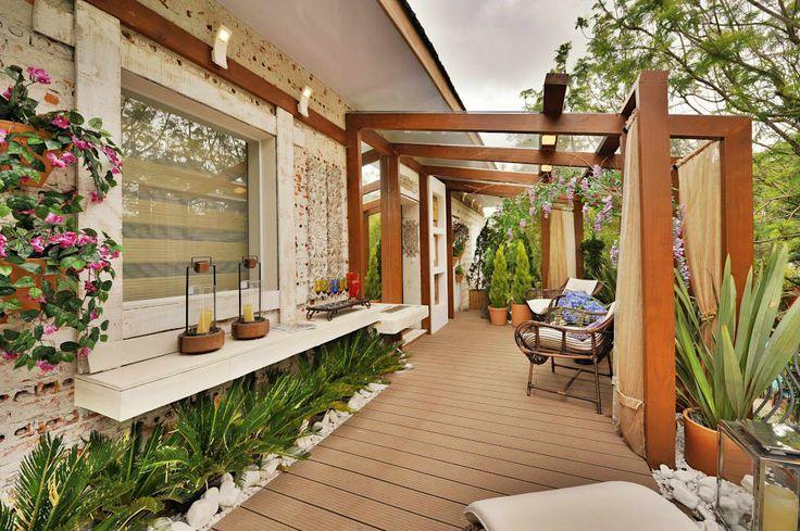 Precisa de inspirações para o seu jardim? Confira mais! https://www.homify.com.br/livros_de_ideias/1970976/