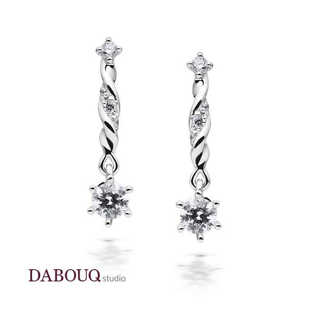Dabouq Studio Earring - DE0002 - Simple+ #DABOUQ #Jewelry #쥬얼리 #Earring #귀걸이 #Propose #프로포즈 #Diamond #다이아귀걸이 #패션귀걸이 #Gold #White_Gold #Pink_Gold #Rose_Gold