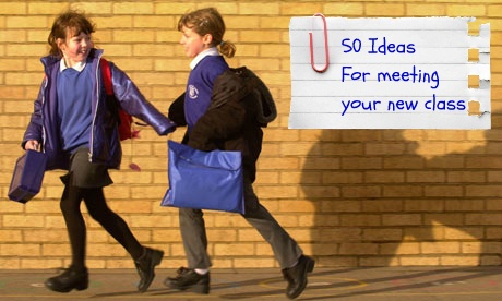 50 ideas for meeting your new class - a great teaching resource for the first day back at school