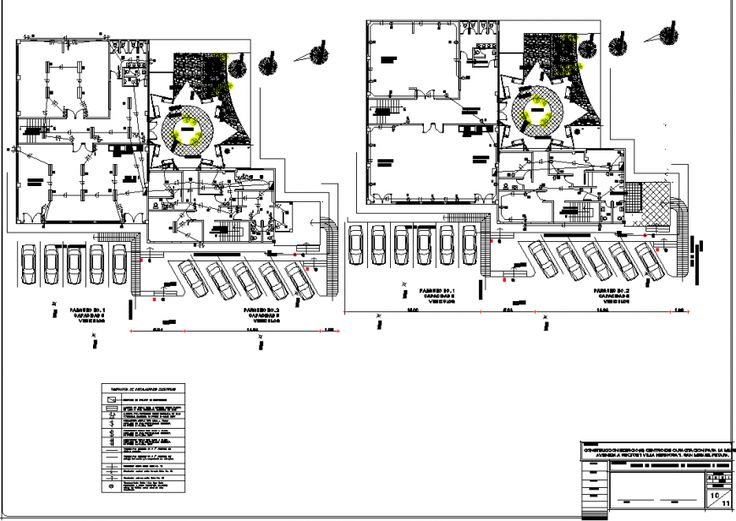 Commercial building electrical layout plan in dwg AutoCAD
