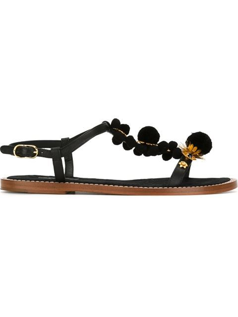 ad9a57b2dfb3 Shop Dolce   Gabbana embellished sandals in Bonvicini from the world s best  independent boutiques at farfetch.com. Shop 400 boutiques at one a…