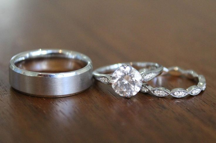 I thee wed. #BrilliantEarth