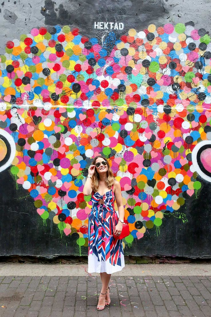 Hektad Hearts Mural New York City