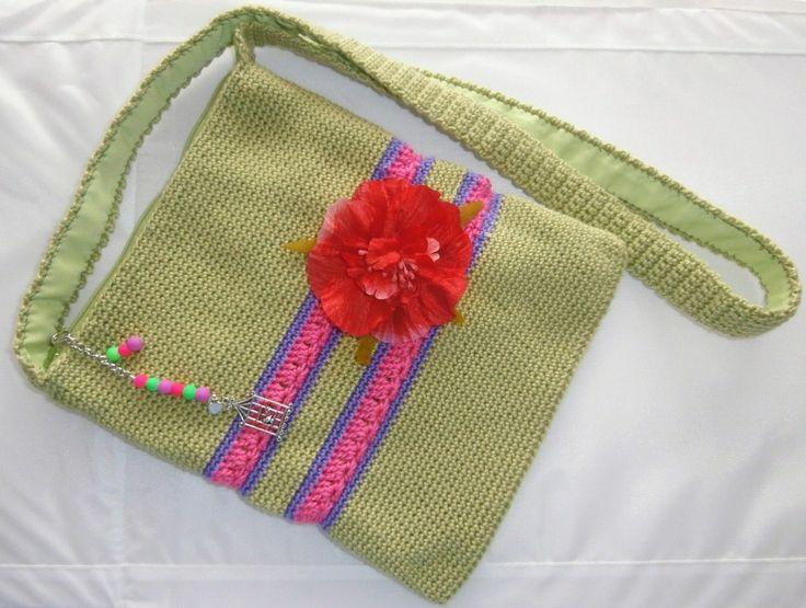 Mejores 56 im genes de bolsos y bolsitos en pinterest - Esquema punto estrella crochet ...