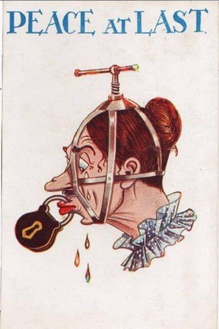 La ridícula propaganda contra los derechos de la mujer de principios de siglo | OLDSKULL