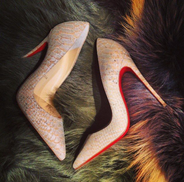 Lovely Loubi Source: Christian Louboutin Facebook page | Shoes ...