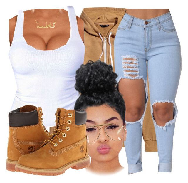 """"" by daradior ❤ liked on Polyvore featuring CÉLINE and Timberland"