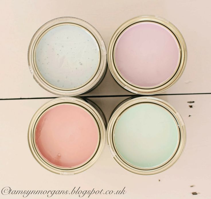 The Villa on Mount Pleasant: eggshell paints from Craig & Rose in delicious pastel shades