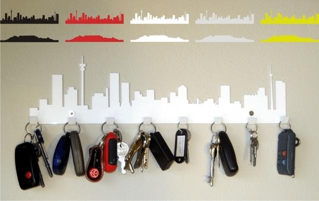 key hook - johannesburg skyline