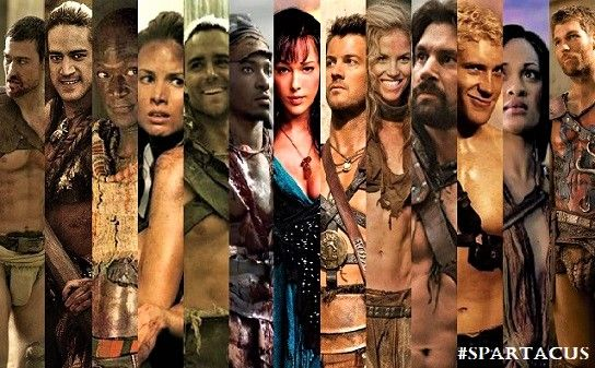 The Rebel cause - #Spartacus characters #Nasir #Oenomaus #Mira #Gannicus #Castus #Sura #Agron #Saxa #Crixus #Varro #Naevia #AndyWhitfield #LiamMcIntyre