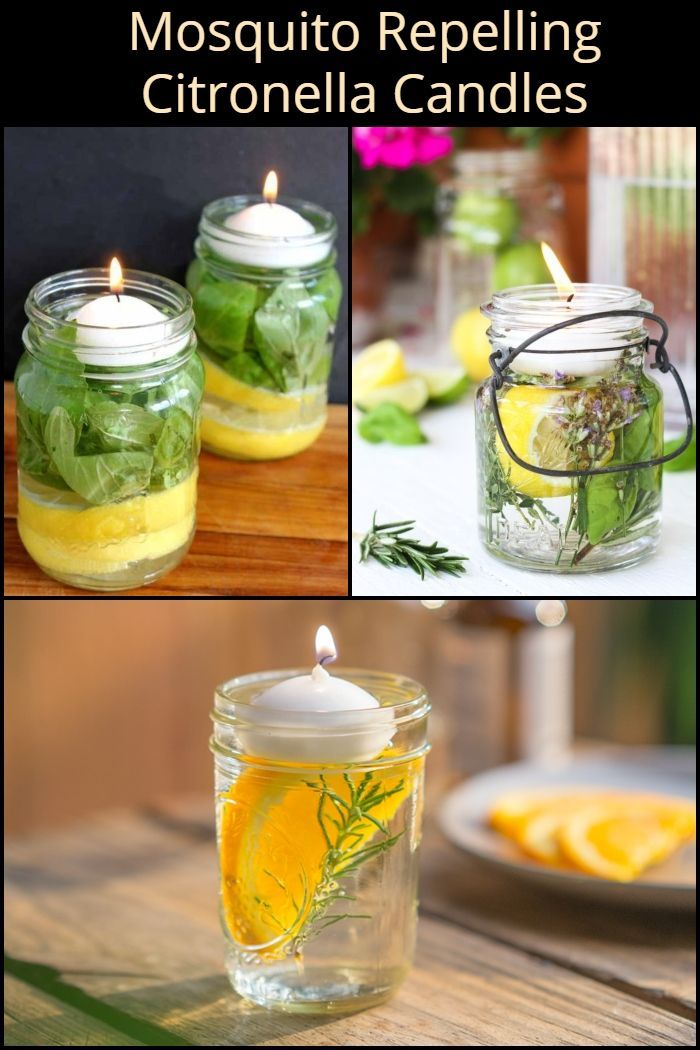 How To Make Your Own Mosquito Repelling Citronella Candles With Images Citronella Candles Mosquito Repellent Candle Outdoor Improvements
