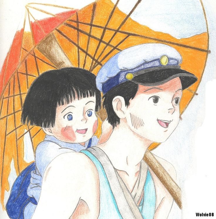 Ghibli Grave of the fireflies by ChibiThekla Grave of