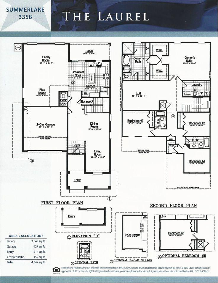 8 best DR Horton images on Pinterest | Floor plans, Horton homes ...