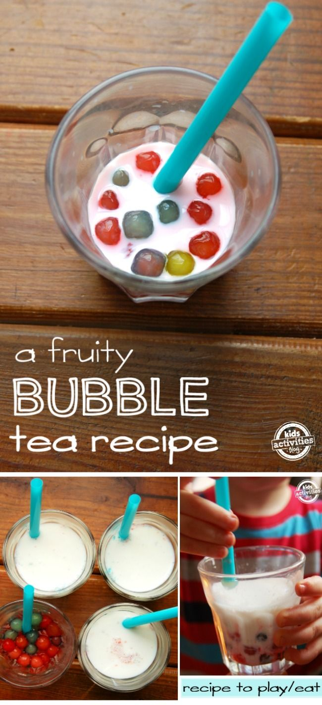 Play time just got a lot more fun with this edible drink using something I never would have t...