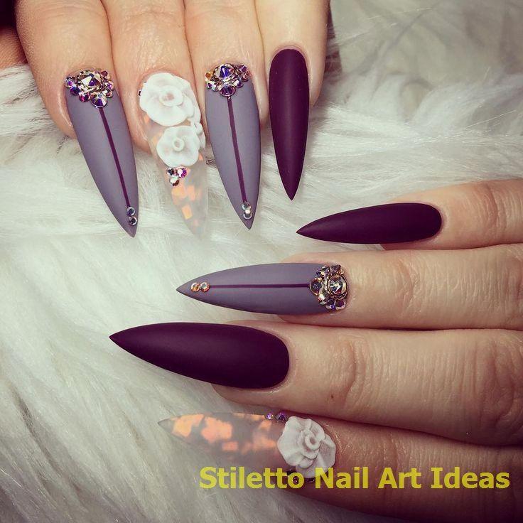 30 große Stiletto Nail Art Design-Ideen 1 #nailideas