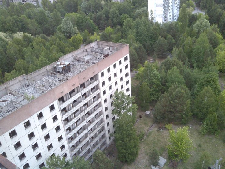 Pripyat seen from the rooftop
