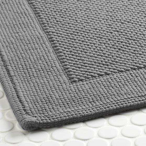 Best J Bed Bath Images On Pinterest Bath Rugs Bathroom - Dark grey bath rugs for bathroom decorating ideas