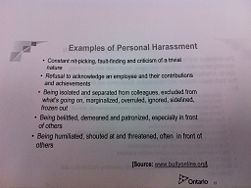 How to Deal with Workplace Bullying and Harassment